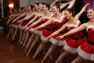 Rockettes perform at an Enchanted Evening